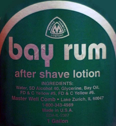 (Master Well Comb After Shave Lotion Bay Rum 1)