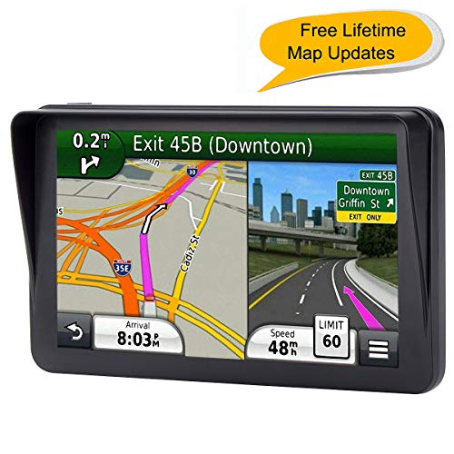 GPS for Car, 7 inches 8GB Lifeti...