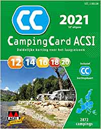 CampingCard ACSI 2021: set 2 delen (ACSI Campinggids ...