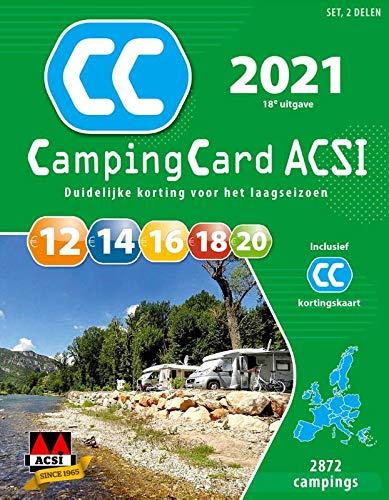 CampingCard ACSI 2021: set 2 delen (ACSI Campinggids): Amazon ...