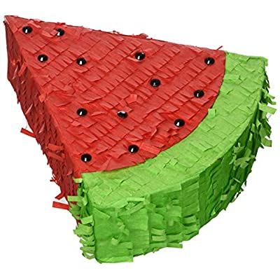 Amscan Party Supplies Mini Watermelon Decoration (1 Piece), Multi: Toys & Games