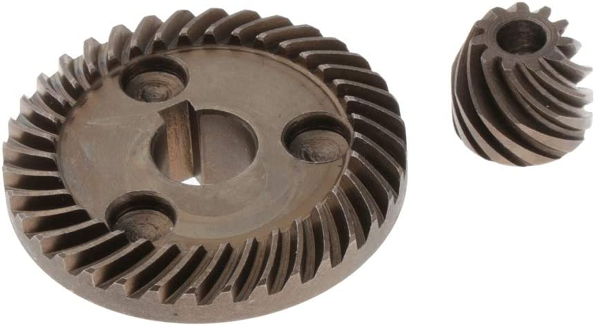 gazechimp 12mm Pignon Diam/ètre de lArbre Meuleuse dAngle Engrenages Coniques en Spirale Pi/èces