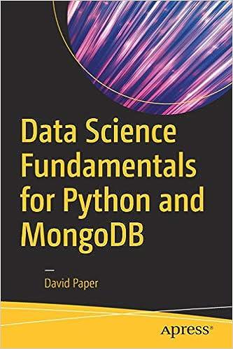 Data Science Fundamentals for Python and MongoDB