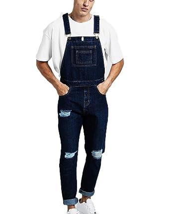 Pantalones de chándal para Hombre de Vaqueros desgarrados de ...