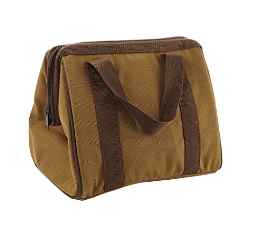 Fit & Fresh Men's Big Phil Insulated Lunch Bag with Ice Pack, Brown (Lunch Bag Big Phil)