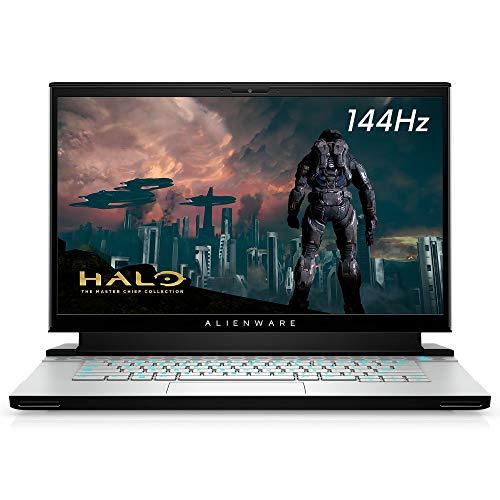 New Alienware m15 R3 15.6inch FHD Gaming Laptop (Luna Light) Intel Core i7-10750H 10th Gen, 16GB DDR4 RAM, 512GB SSD, Nvidia GeForce RTX 2060 6GB GDDR6, Windows 10 Home (AWm15-7272WHT-PUS)