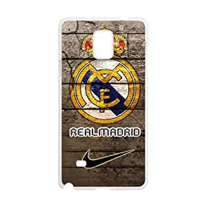 Personal Customization Real Madrid Fashion Comstom Plastic case cover For Samsung Galaxy Note4
