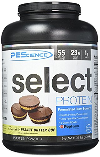 PEScience - Select Protein - Whey & Casein Protein Powder Supplement Blend - 55 Servings ( Chocolate Peanut Butter Cup )