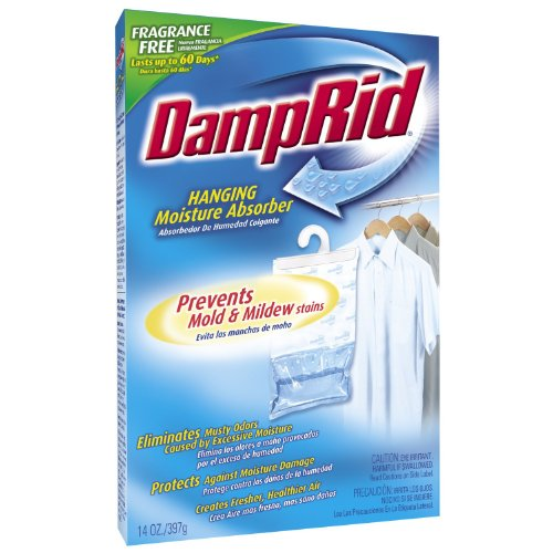 DampRid FG83K Hanging Moisture Absorber Fresh Scent (1 Box