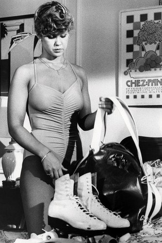 Linda Blair Roller Boogie In Swimsuit By Roller Skates 24x36 Poster