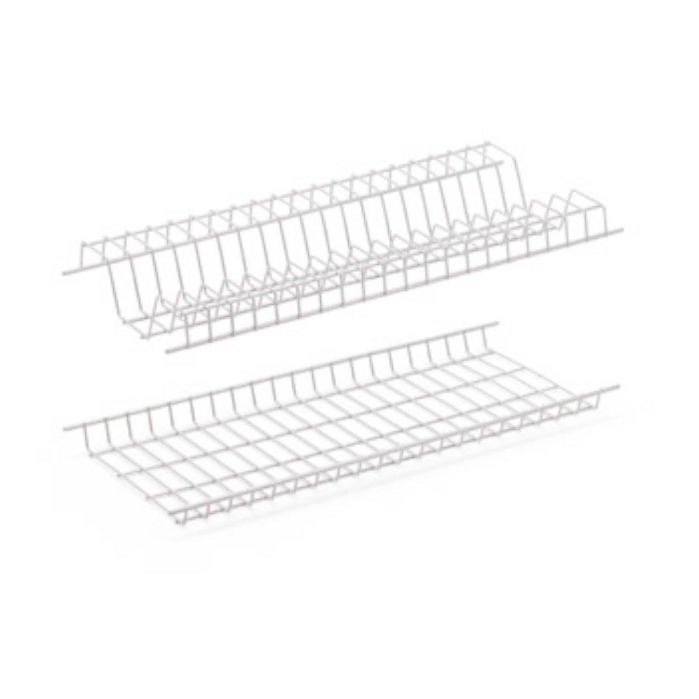 Scolapiatti Griglie plastificate antiruggine per stoviglie piatti cucina (76cm) Bricobravo