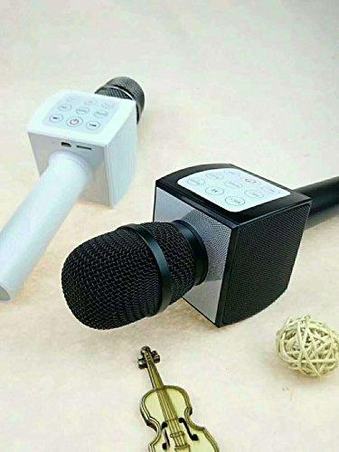 KoolTech Wireless Bluetooth Microphone Karaoke,3-in-1 Built in 10W Bluetooth Karaoke Speaker Player Machine for Android/iPhone/Apple/PC or Smartphone (Black) - Kool Karaoke