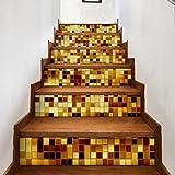 Vibola DIY Creative Decorative 3D Self-adhesive Stair Riser - Best Reviews Guide