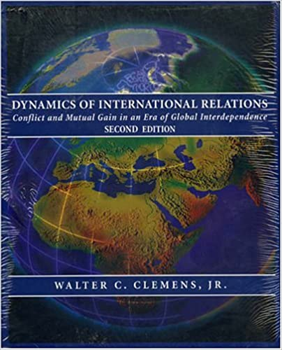 Amazon com: Dynamics of International Relations: Conflict and Mutual
