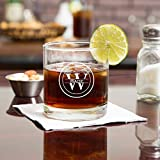 Personalized Custom Whiskey Glass Tumblers