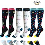 6 Pairs Compression Socks Pack - Best