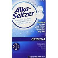 116 -Count Alka Seltzer Antacid Tablets