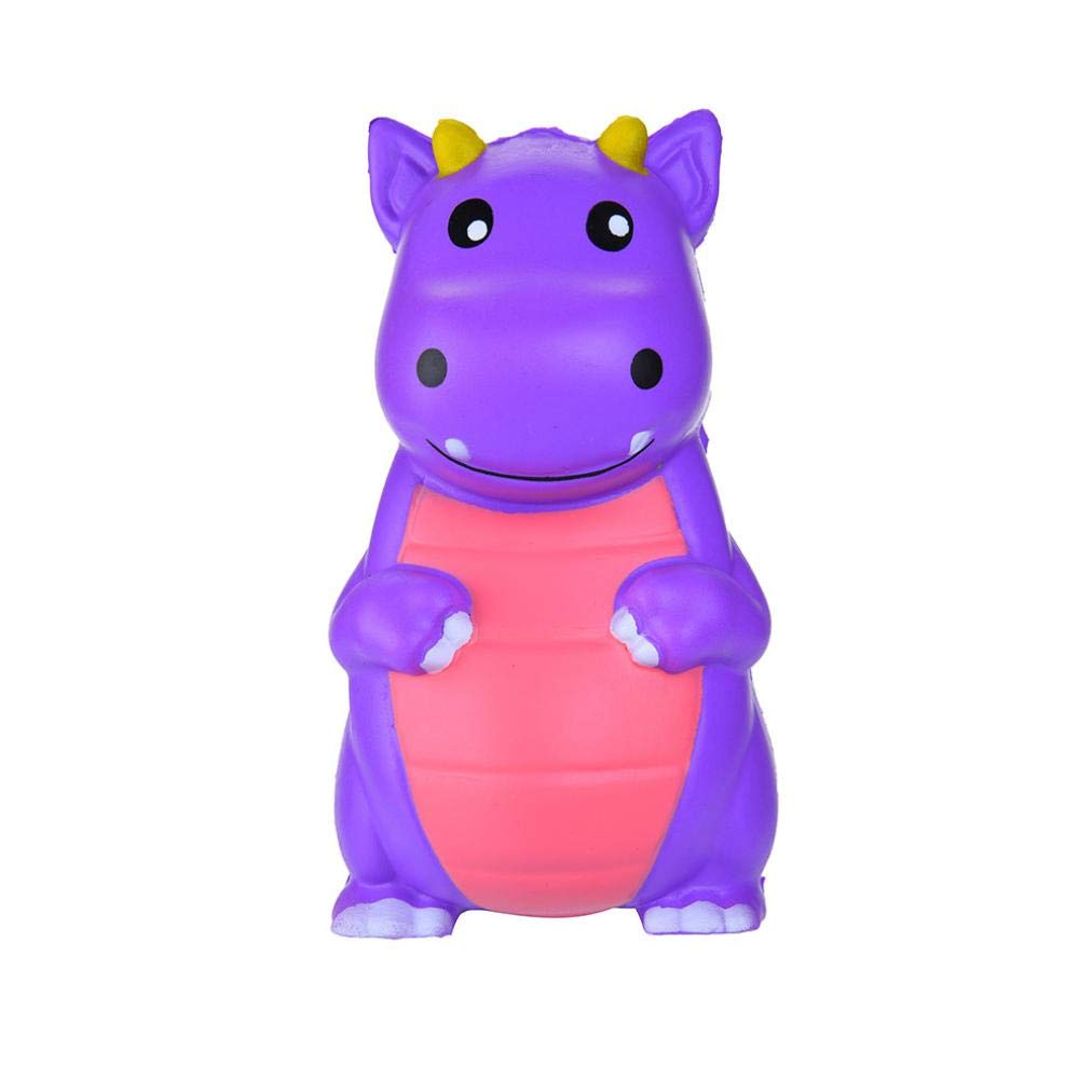 callm Squishies Cake Style Slow Rising Jumbo Squishy Toys Kawaii Cute Scented Squishies Kids Party Squishy Stress Reliever Toy (Dinosaur)