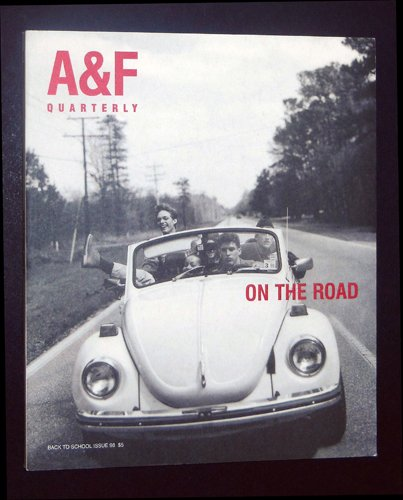 A&F Quarterly, On the Road, Back to School 1998, Abercrombie for sale  Delivered anywhere in USA