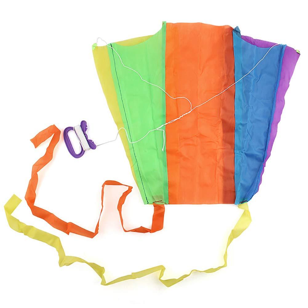 1 stücke Tragbare Kinder Bunte Mini Tasche Kite Outdoor-spaß Sport Software Drachen Fliegen Geschenk Für Kinder Beito