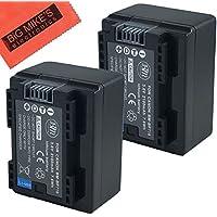 BM Premium 2 BP-718 Batteries for Canon Vixia HFR80, HFR82, HFR800, HFR70, HFR72, HFR700, HFR30, HFR32, HFR300, HFR40, HFR42, HFR400, HFR50, HFR52, HFR500, HFR60, HFR62, HFR600, HFM50 ,HFM52, HFM500