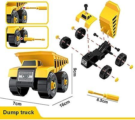 Camión volquete Regalo Ideal para 3 4 5 6 años Niños Niños