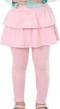 Niña Leggins Leggings Pantalones De Lápiz con Falda De Niñas ...