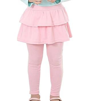 en venta d7d29 8f0e0 Niña Leggins Leggings Pantalones De Lápiz con Falda De Niñas Falda Guapa De  Ballet