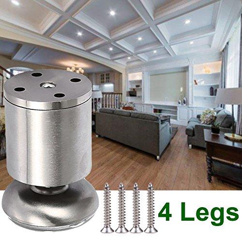 stainless steel adjustable legs - 1