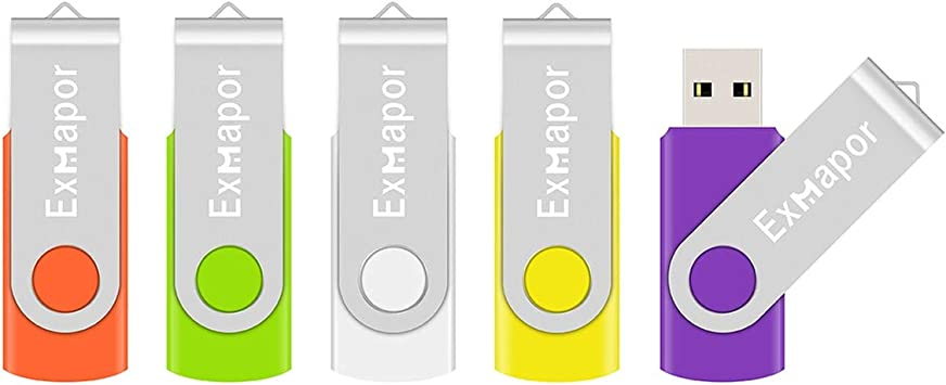 10 Mixed Colors: Black Blue Red Green Orange White Yellow Pink Purple Silver Aiibe 10 Pack 32GB Flash Drive USB Flash Drive USB 3.0 Thumb Drives USB Memory Stick 32 GB 3.0 Flash Drives Bulk