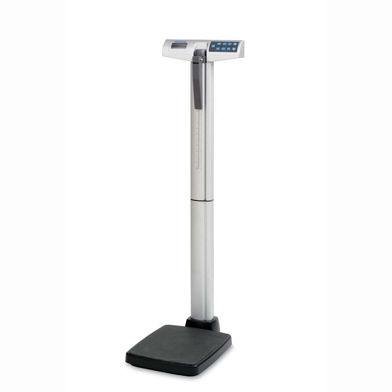 Health o Meter 500KL Eye Level Digital Medical Scale, 500 lb./220 kg Capacity, Calculates BMI
