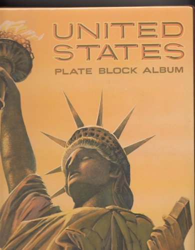 Harris United States Plate Block Album 1932-1968 (including spaces for commemorative and air mail stamps.) Airmail Plate Block