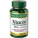 Nature's Bounty Niacin Flush Free 500 mg, 120 Capsules