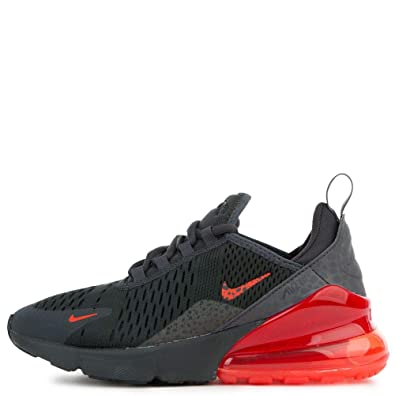 the best attitude 59ec5 a0fd3 Amazon.com | Nike Air Max 270 Off Noir/Habanero Red (GS ...