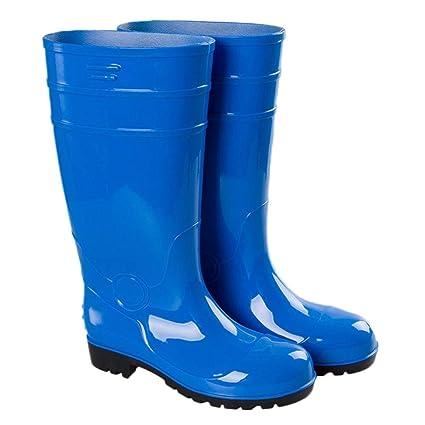 Botas de Agua Zapatos de Seguridad Resistentes al Desgaste Botas de Tubo Especiales Anti-destrucción