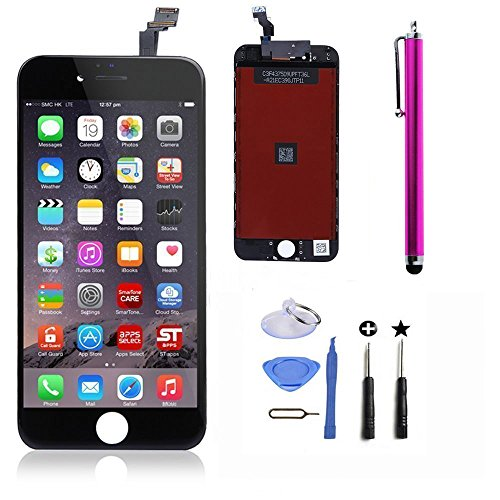 cococka-lcd-touch-screen-digitizer-frame-replacement-assembly-full-set-for-iphone-6-black