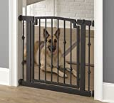 Emperor Rings Pressure Mount Dog Gate – 42″ Tall x 34″-45″ Wide