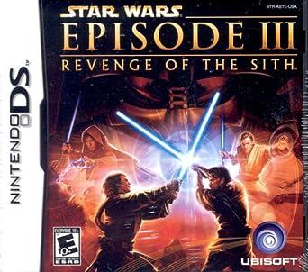 Amazon Com Star Wars Episode Iii Revenge Of The Sith Nintendo Ds Nintendo Ds Video Games
