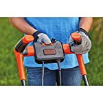 BLACK+DECKER Electric Lawn Mower, 10 -Amp, 15-Inch (BEMW472BH) 24 IMPROVED ERGONOMICS: Comfort grip handle makes the lawn mower easy to maneuver BETTER CLIPPING COLLECTION: Our winged blade achieves 30% better clipping collection NO MORE PULL CORDS: Push-button start makes starting the lawn mower a breeze