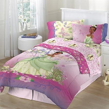 Amazon.com: Disney Princess and the Frog 4pc Twin Comforter and ...