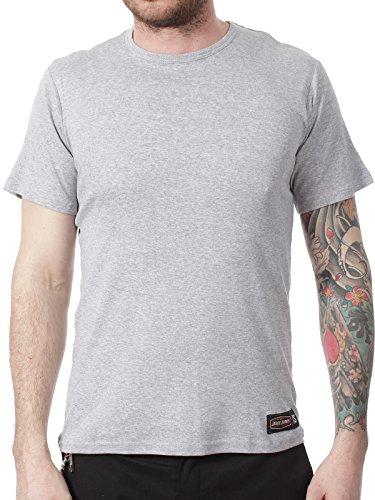 West Coast Choppers Jesse James Grey Sturdy Work T-Shirt (S, Grey) (Jesse Work Shirts)