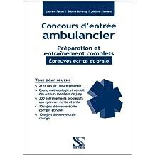Concours ambulancier - Préparation et entraînement complets - Epreuves écrite et orale