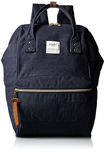 Anello Mouthpiece Canvas Backpack Tricolor - 3