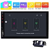 Double 2 Din in Dash Head Unit Universal Android 6.0 Car Stereo Radio
