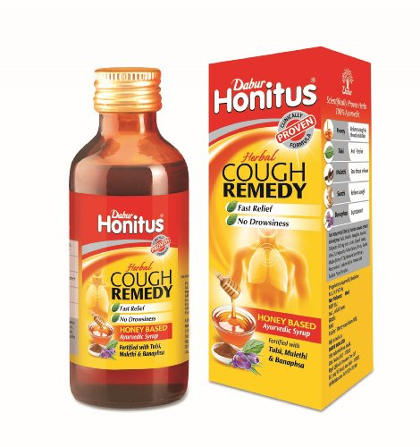 Remedies Ayurvedic Herbal (Dabur Honitus Herbal Cough Remedy Ayurvedic Syrup)