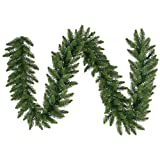Vickerman Camdon Fir Garland with 900 Tips, 25-Feet by 20-Inch