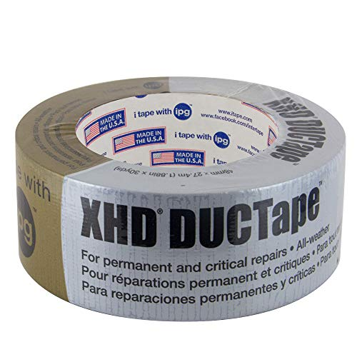 IPG 10 Mil XHD, Extra Heavy Duty DUCTape 1.88'' x 30 yd, Silver by Intertape Polymer Group
