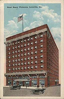 Hotel Henry Watterson Louisville, Kentucky KY Original Vintage Postcard