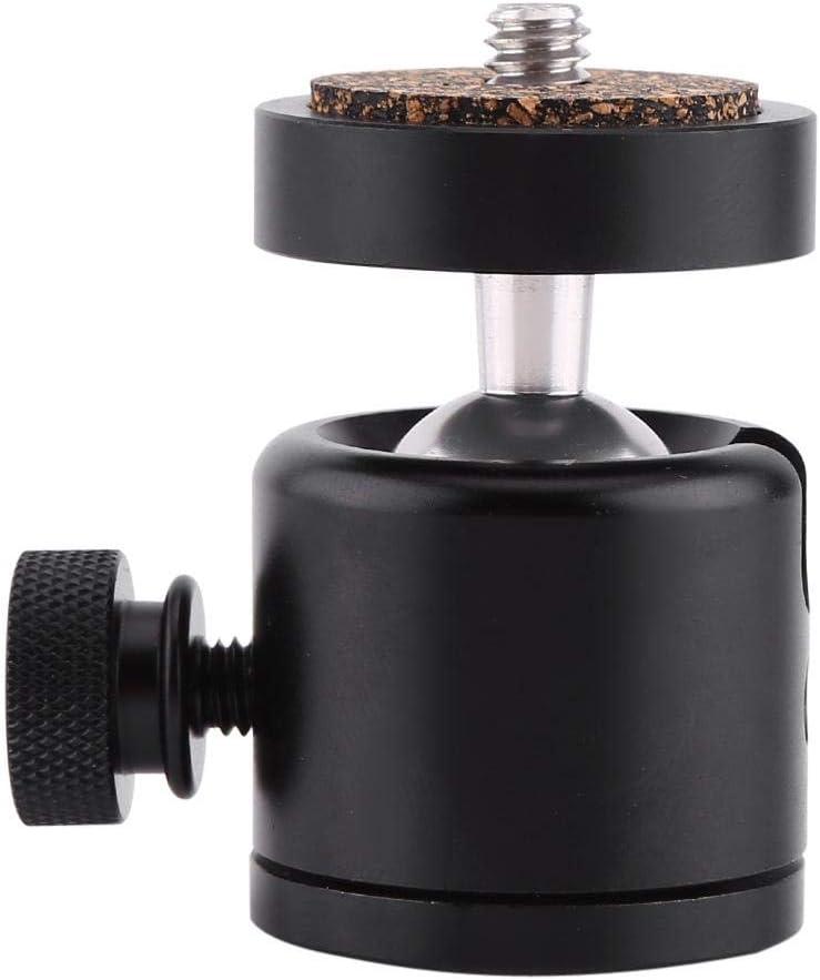 Simlug Camera Tripod ballhead Cameras ballhead Mini Tripod Ball Head for 1//4 inch Screw DSLR Camera Camcorder Light