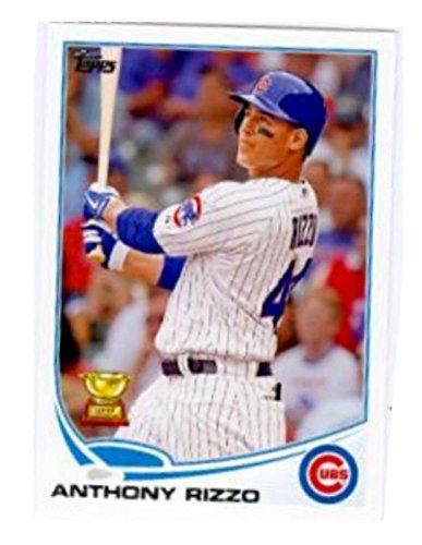 97c6e43d9 Image Unavailable. Image not available for. Color  Anthony Rizzo baseball  card (Chicago Cubs) ...
